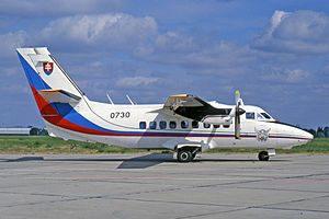 300px-Let_L-410_UVP_Turbolet,_0730,_Slovakian_Air_Force