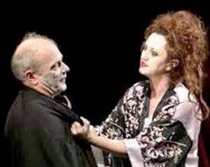 Görözdi Szilárd felvétele a Bulgakov-darab jelenetét örökítette meg