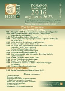 HON-NAP szombati program